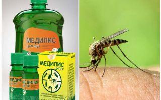 Medilis Tsiper-medel mot myggor