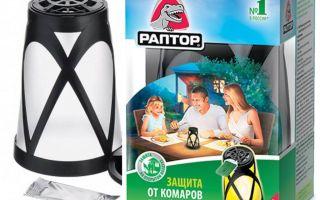 Lantern Raptor för skydd mot myggor