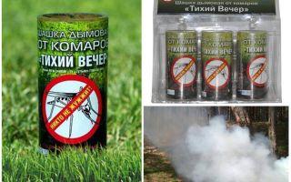 Rökbomb En lugn myggavlycka