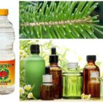 Eteriska oljor, nålar och ättika