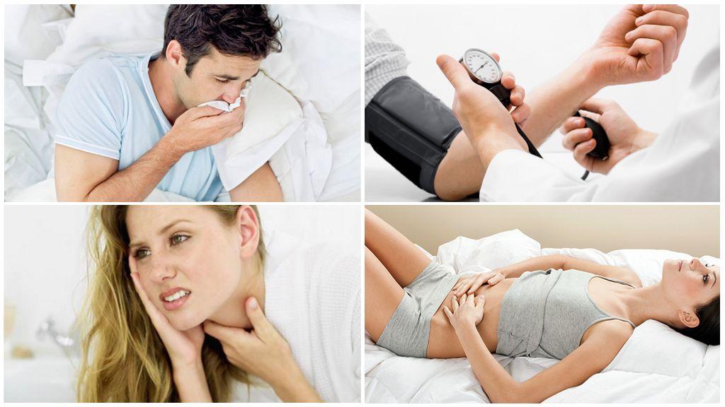 Symptom på sjukdom efter att ha blivit bett av en infekterad tick